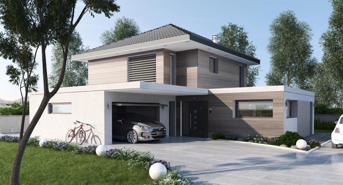 Nouveau bois 2 maisons st phane berger - Maison stephane berger ...